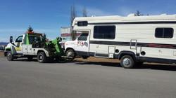 Class C Motorhome Towing Calgary