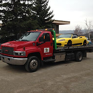 Low Clearance Low Profile Flatbed Towing