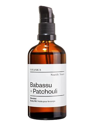 Babassu + Patchouli Bodyoil