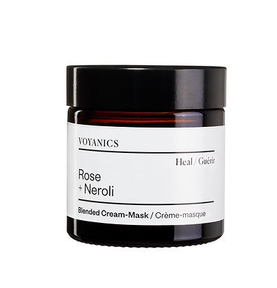 Rose + Neroli Cream-Mask