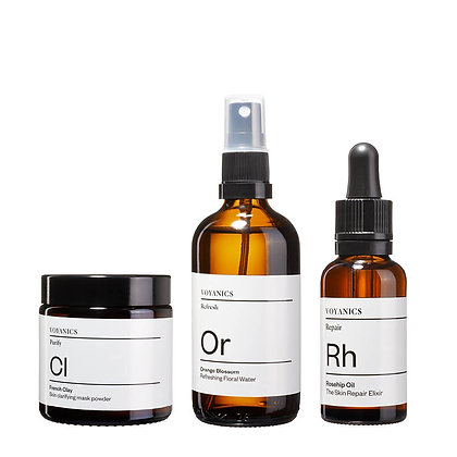 Voyanics Skincare Trio für strahlende Haut