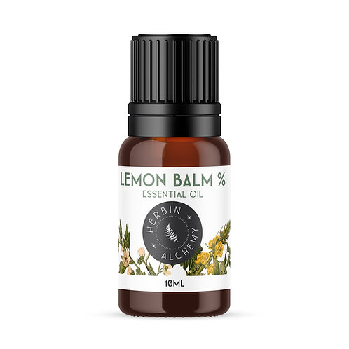 LEMON BALM % ESSENTIAL OIL 10ml