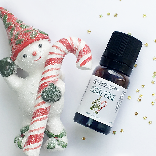 Organic Candy Cane Holiday Diffuser Oil