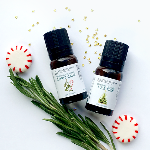 Holiday Diffuser Organic Oils Gift Set