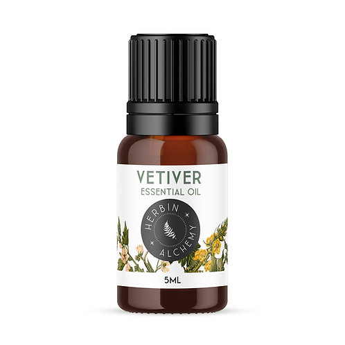 VETIVER ESSENTIAL OIL 5ml
