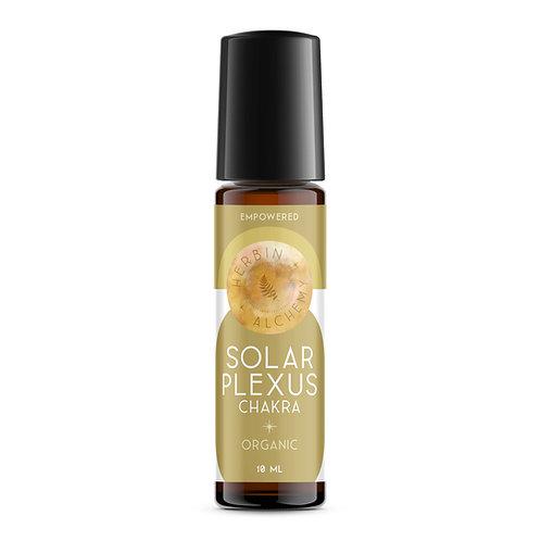 SOLAR PLEXUS CHAKRA & CRYSTAL ROLL-ON