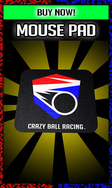 Crazy Ball Racing Mouse Pad