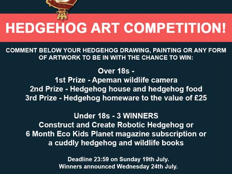 Hedgehog Art Contest