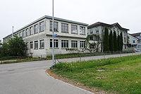 Aussenansicht Atelier Fabrikgebäude Ganterschwil