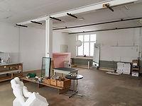 Atelier im Fabrikgebäude in Ganterschwil
