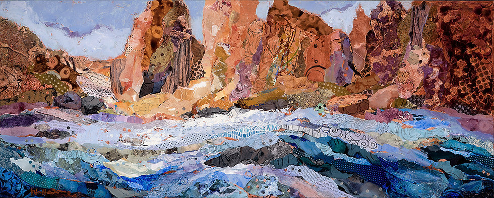 Smith Rocks and Crooked River Painting
