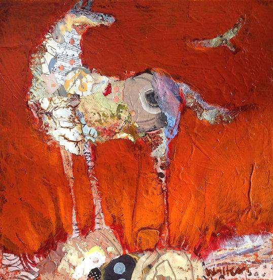 Pony 12x12 Canvas