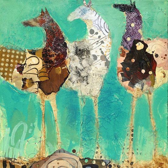 Three Ponies