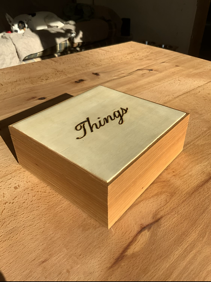 A Box for Things