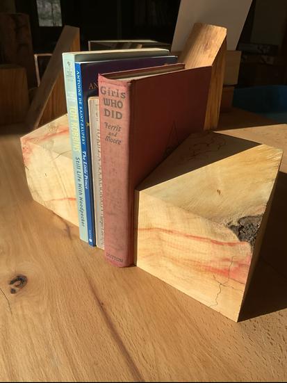 Box Elder Bookends