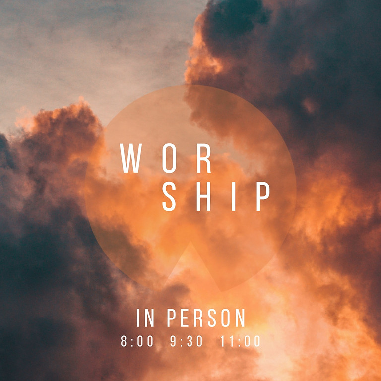 Join us for Sunday worship in person & online