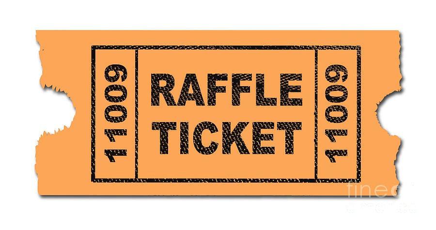 Raffle ticket (three entry's)