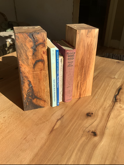 Maple Bookends