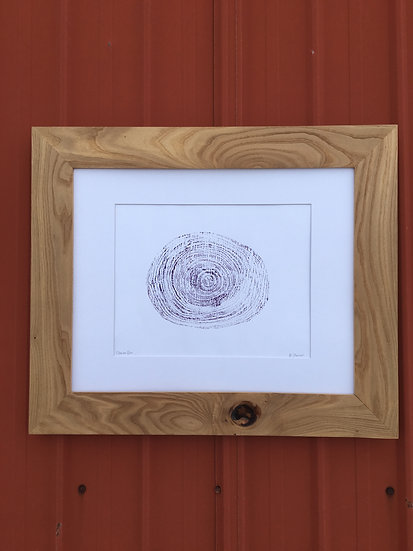 Siberian Elm Frame and Print