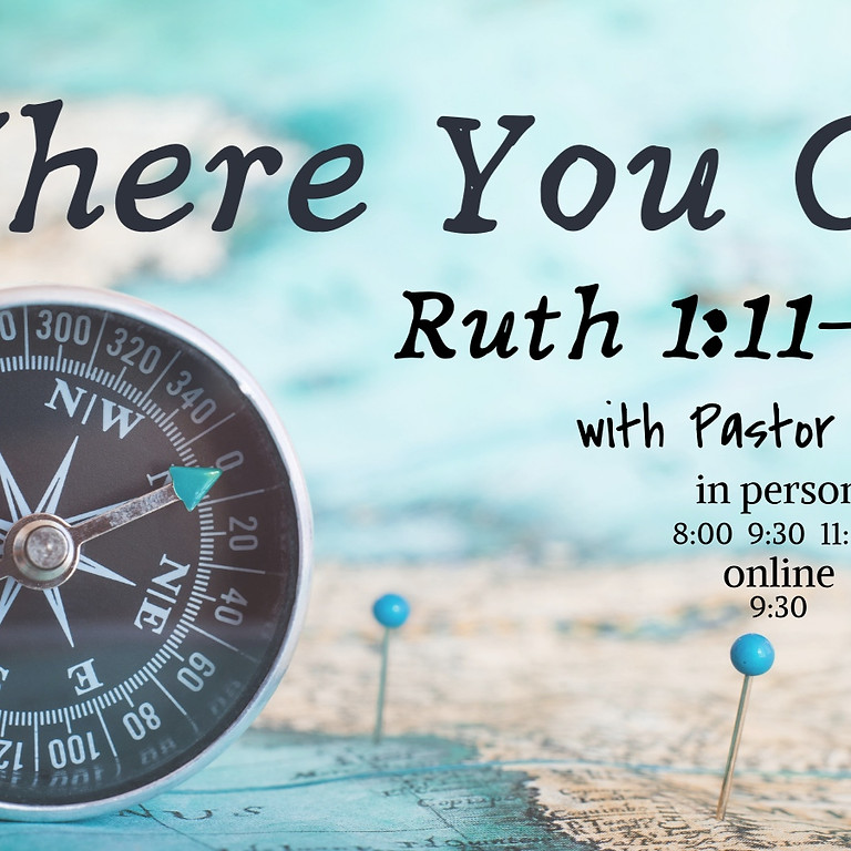 Join us for worship with our NEW Pastor Amy!