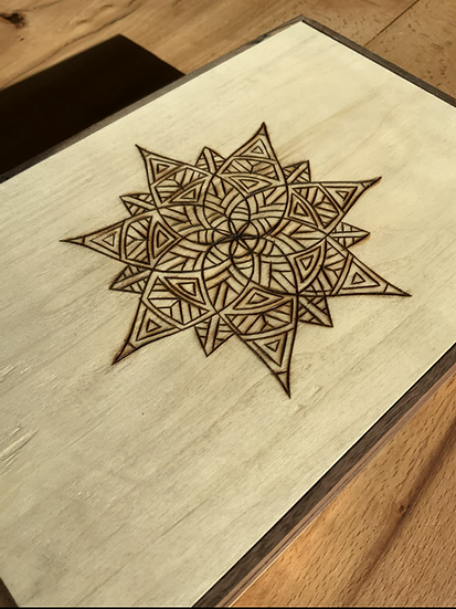Geometric Tea Box