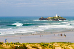 Godrevy-on-Fire