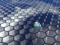 Hexagon Symbols plus World