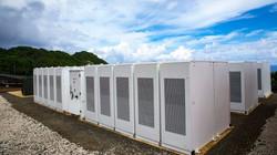 Tesla battery farm
