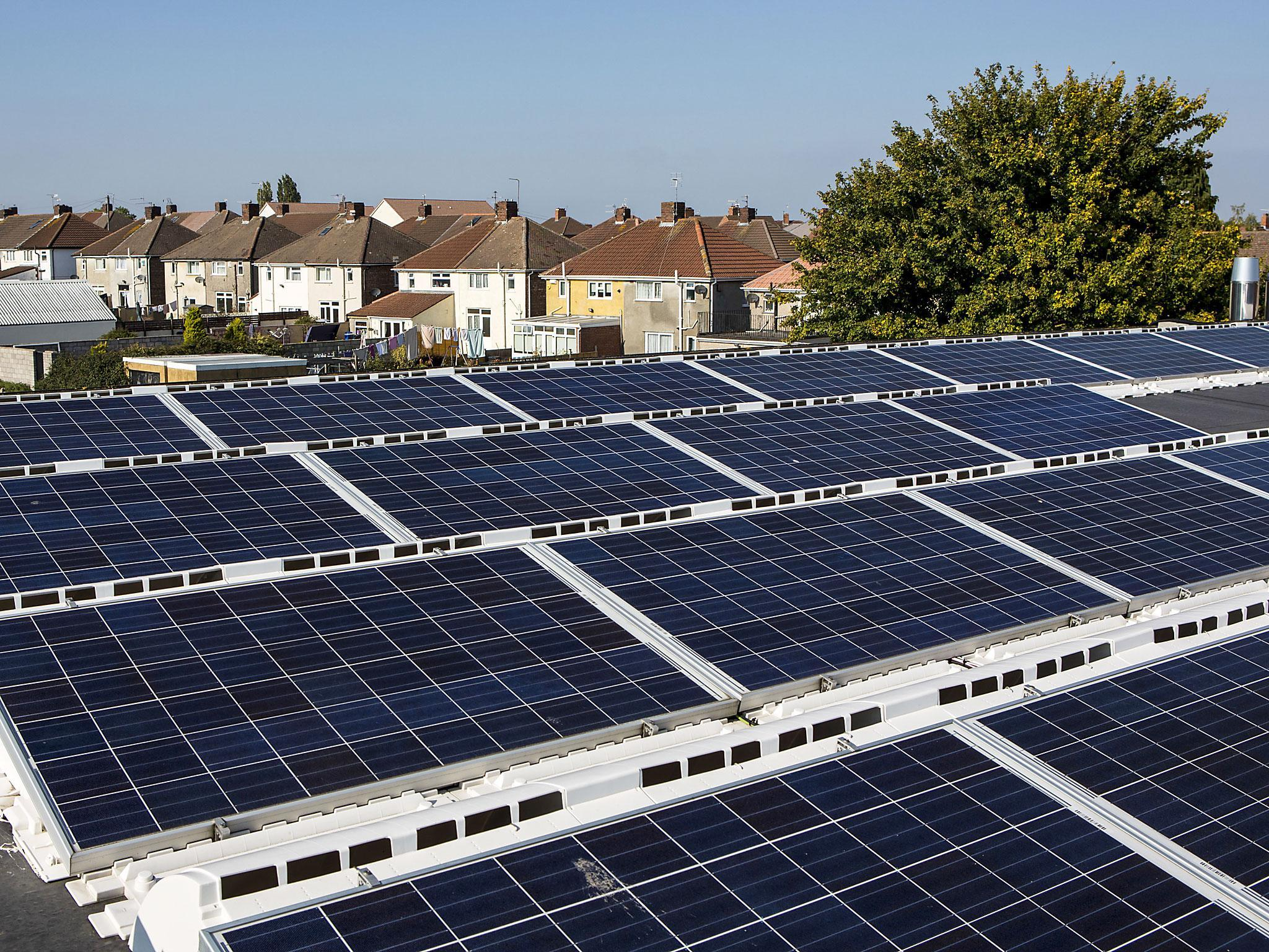 Rooftop solar UK