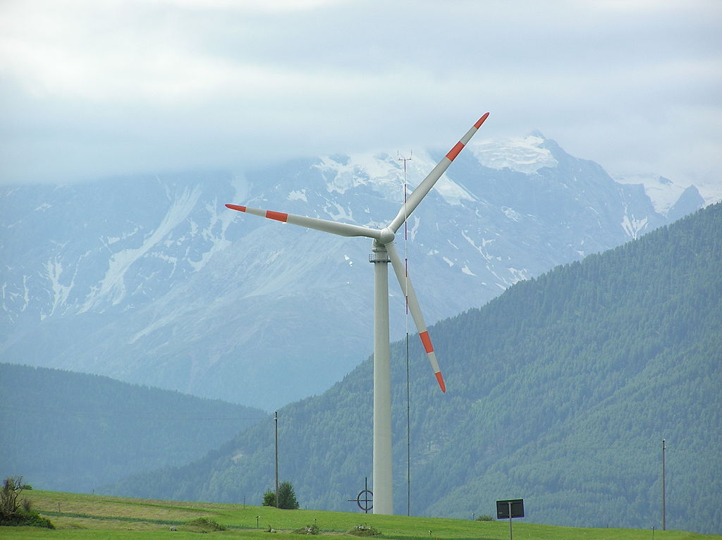 Wind turbine Austria