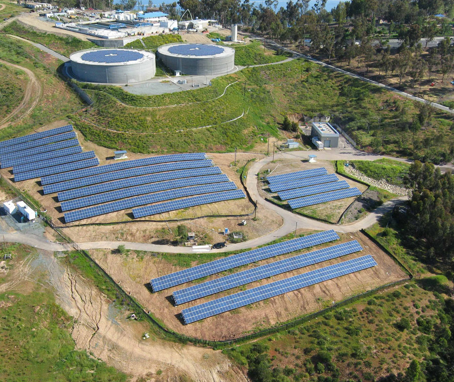 Solar Power Water Treatment plant
