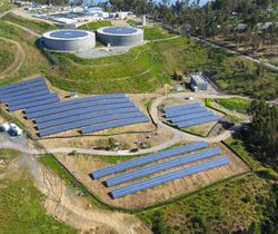 Solar Power Water Treatment plant