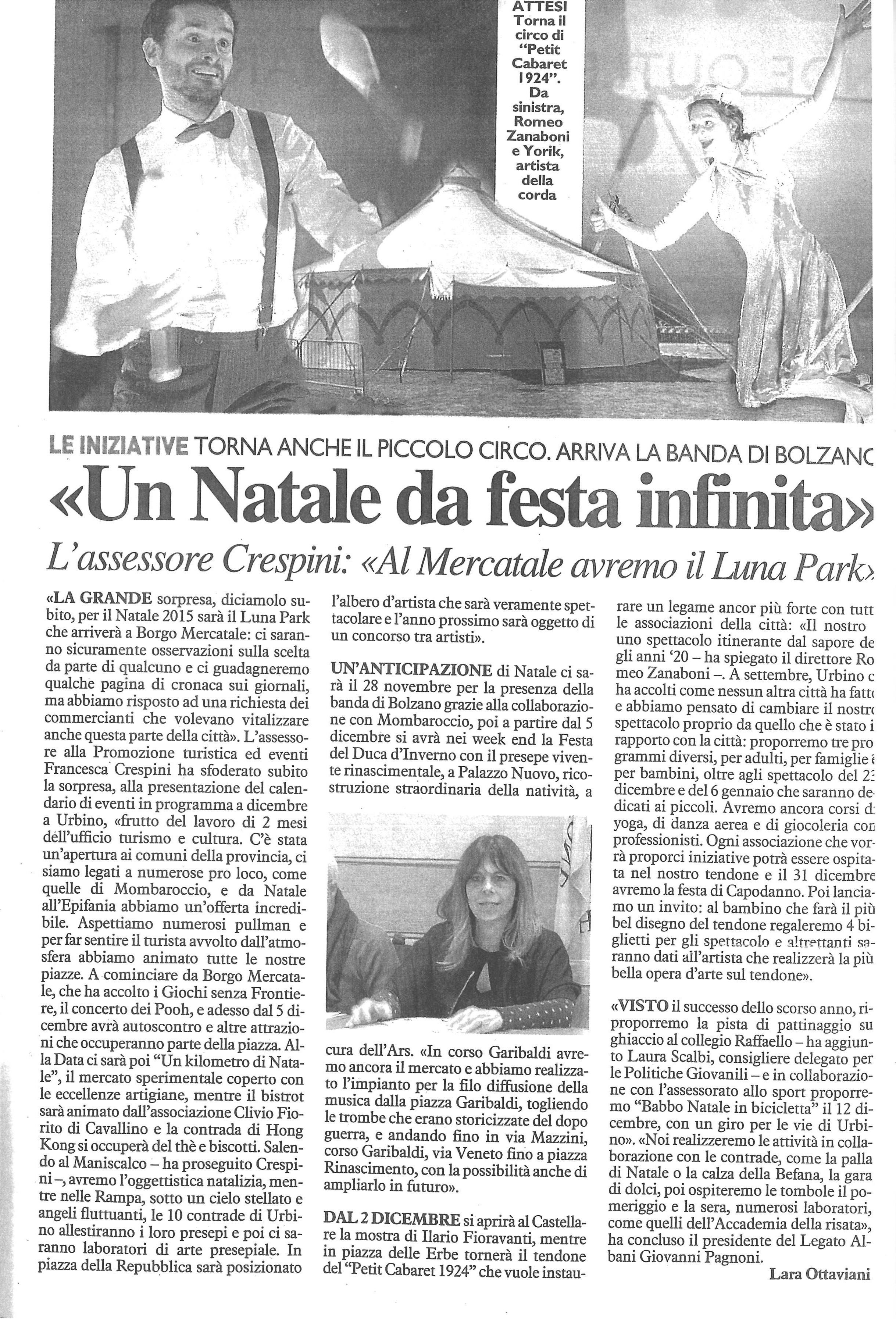 Urbino Natale 2015
