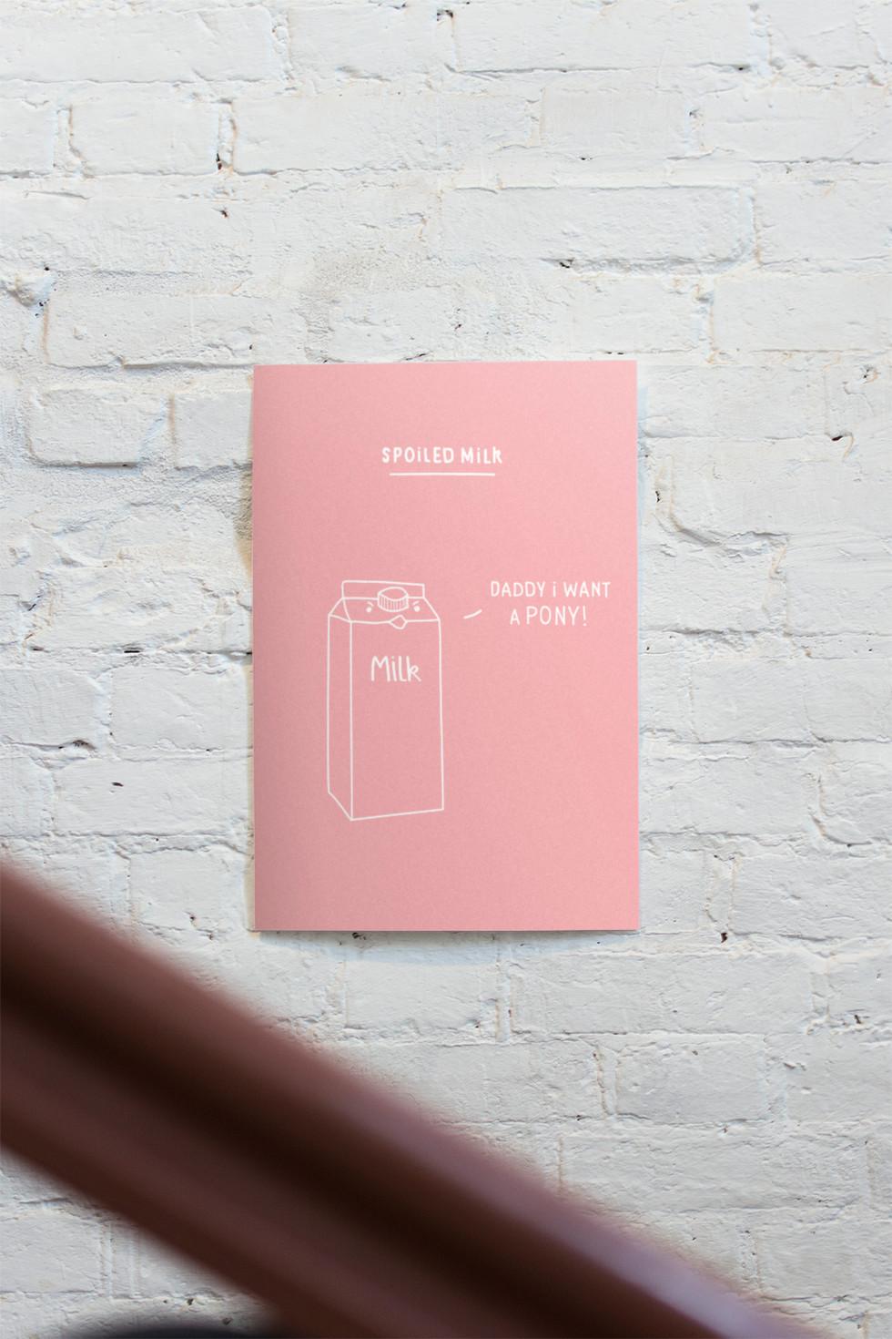Poster melk