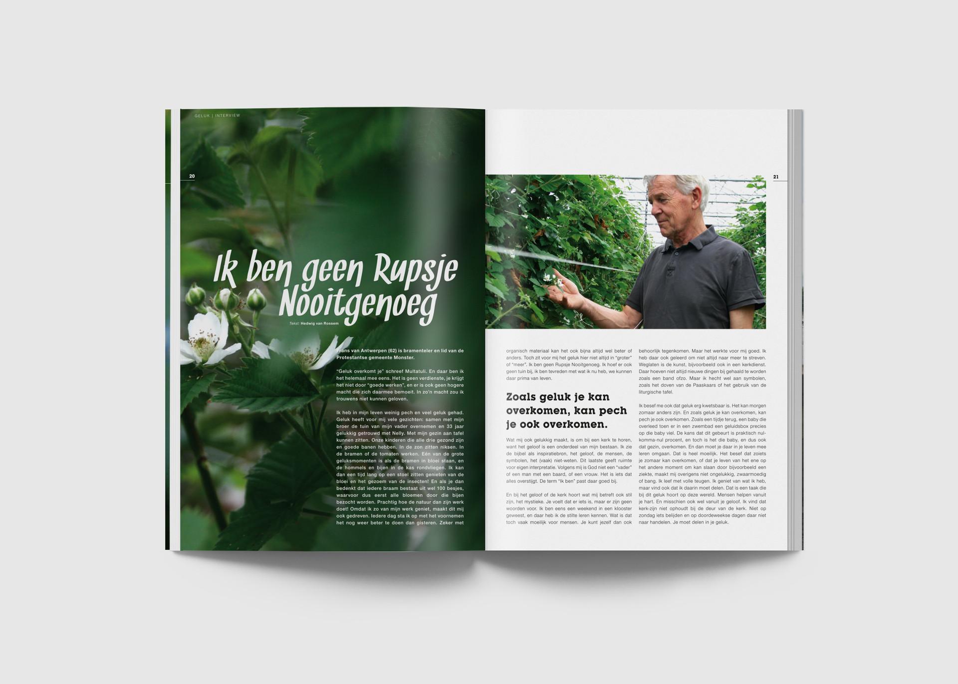Binnenwerk Magazine Geluk