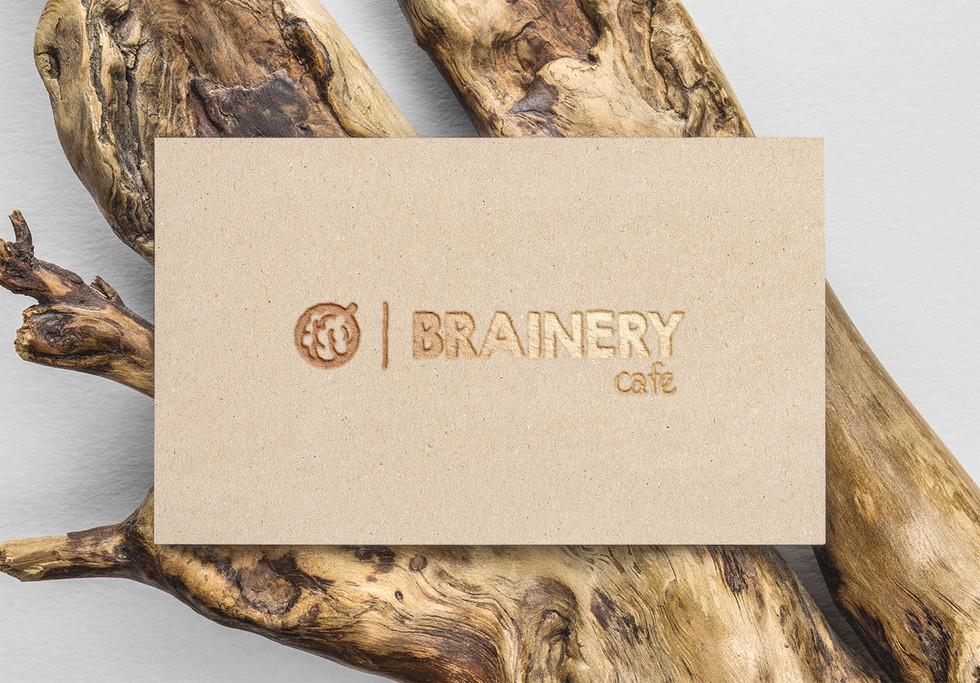 Brainery cafe logo