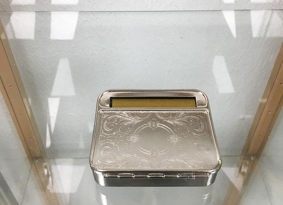 Tobacco metal rolling machine box