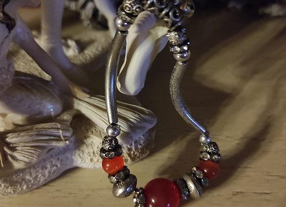 Red Agate Woman Bracelet