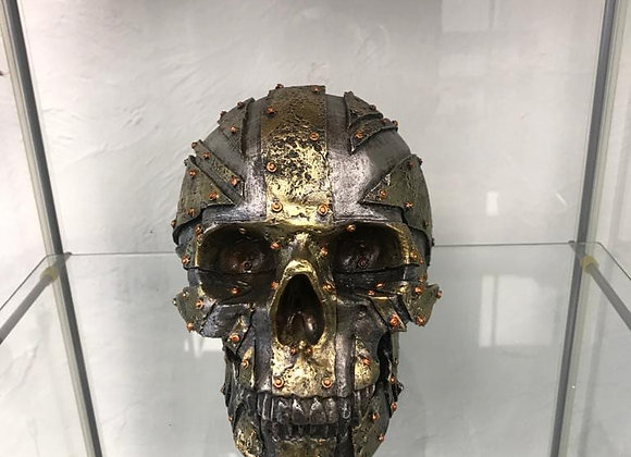 Metalic Skull Head