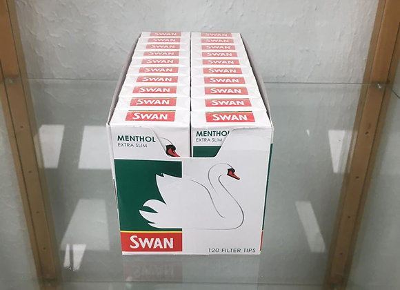 Swan Cool Menthol Extra slim filter