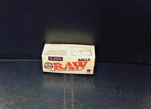 Classic Raw Kingsizee Raw Roll Paper