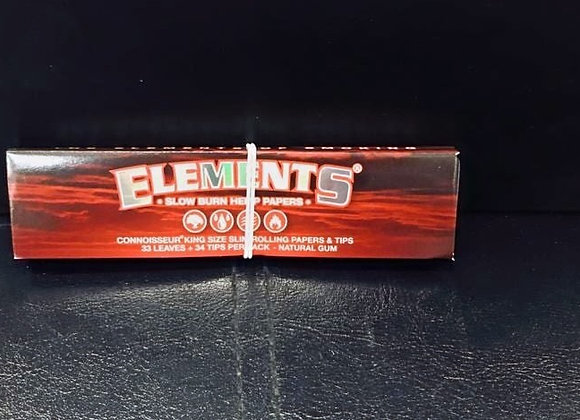 Red Elements Kingsize SlimWith Roach Book