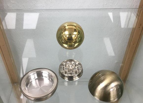 Three piece metal round grinder