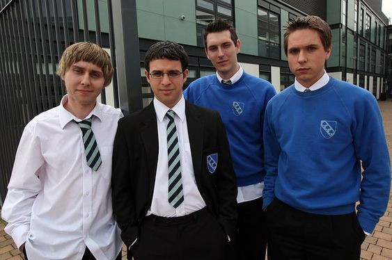 Netflix shows to watch when you're high: The Inbetweeners