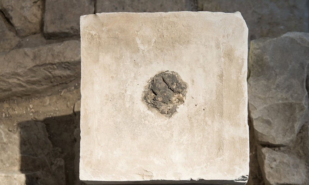 Cannabis residue on artefacts from an ancient temple in southern Israel. Archaeologists say it provides the first evidence of the use of hallucinogens in Judaism. Photograph: Laura Lachman/AP
