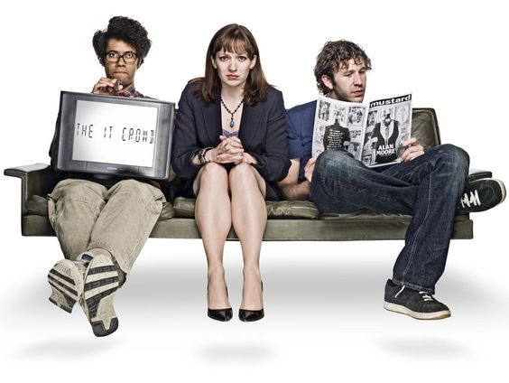 Netflix shows to watch when you're high: The IT Crowd