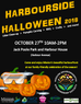 Join us for the annual Harbourside Halloween!