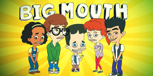 Netflix shows to watch when you're high: Big Mouth