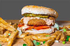 Spicy Crispy Chikn Sandwich