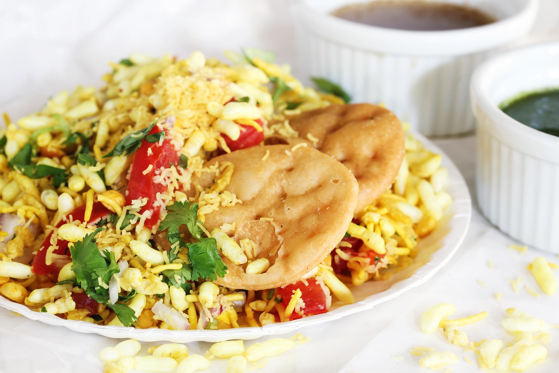Bhel Puri -Popular Mumbai street food se